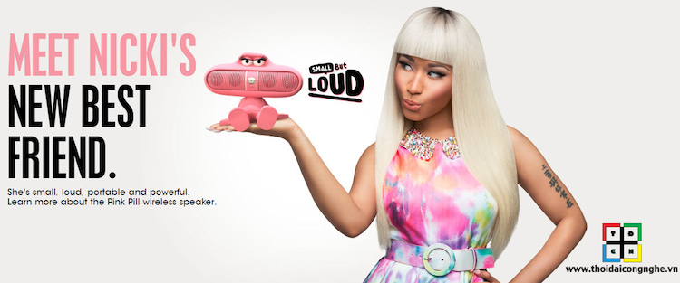 Beats Pill Character cùng Meet Nicki