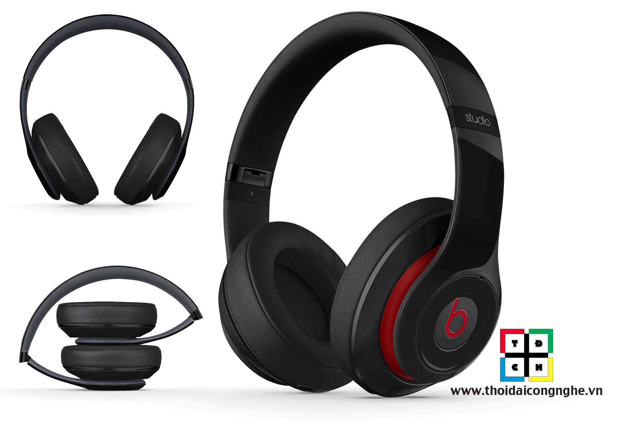 tai nghe beats studio wireless đen